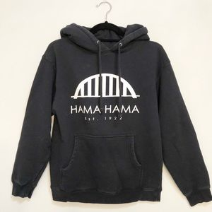 Hamma Hamma Oyster Co. Bridge Hoodie Sweatshirt XS